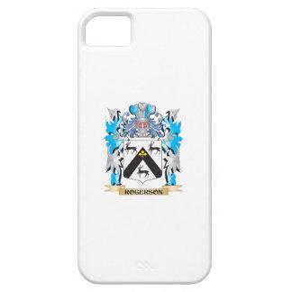 Escudo de armas de Rogerson - escudo de la familia iPhone 5 Funda