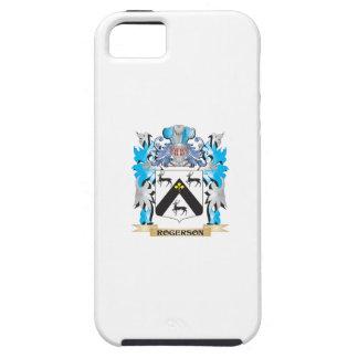 Escudo de armas de Rogerson - escudo de la familia iPhone 5 Carcasa