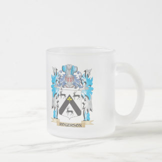 Escudo de armas de Rogerson - escudo de la familia Taza De Cristal