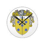 Escudo de armas de Rojas/escudo de la familia Reloj