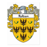 Escudo de armas de Roldan/escudo de la familia Tarjetas Postales