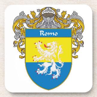 Escudo de armas de Romo/escudo de la familia Posavasos