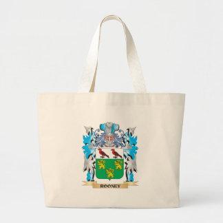 Escudo de armas de Rooney - escudo de la familia Bolsas De Mano