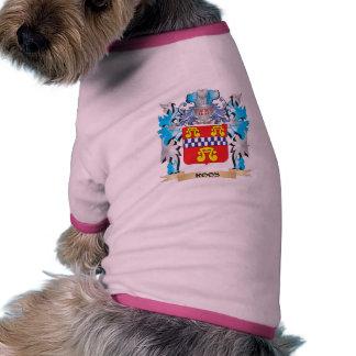 Escudo de armas de Roos - escudo de la familia Camisas De Mascota