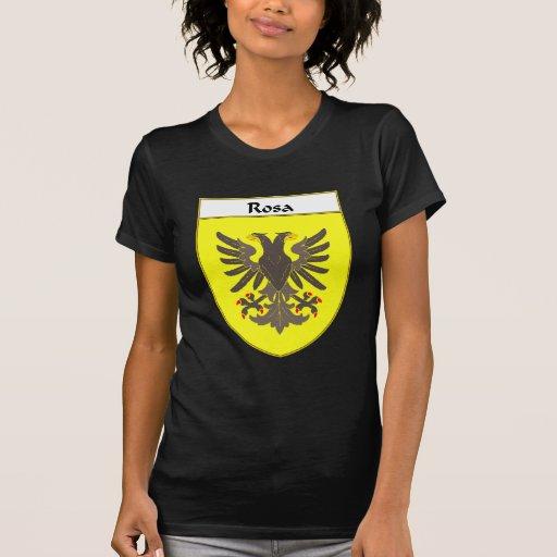 Escudo de armas de Rosa/escudo de la familia T-shirts