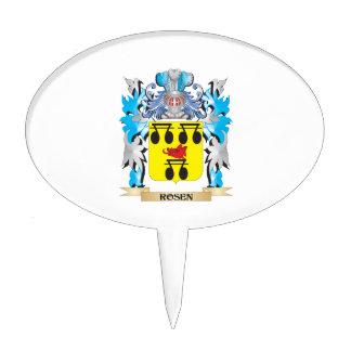 Escudo de armas de Rosen - escudo de la familia Decoración Para Tarta