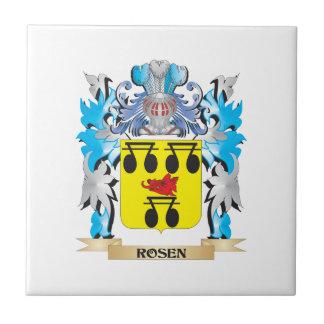 Escudo de armas de Rosen - escudo de la familia Teja