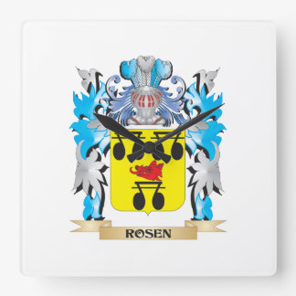 Escudo de armas de Rosen - escudo de la familia Reloj De Pared