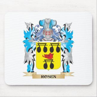 Escudo de armas de Rosen - escudo de la familia Alfombrilla De Ratón