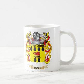 Escudo de armas de Rosen (escudo de la familia) Taza De Café