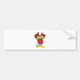 Escudo de armas de ROSS Etiqueta De Parachoque