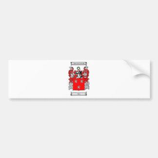 Escudo de armas de Ross Pegatina De Parachoque
