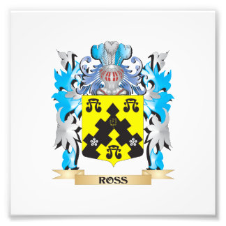 Escudo de armas de Ross - escudo de la familia Fotografias