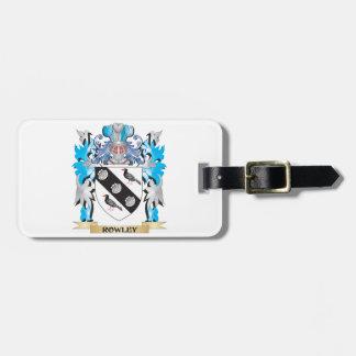 Escudo de armas de Rowley - escudo de la familia Etiquetas Bolsas