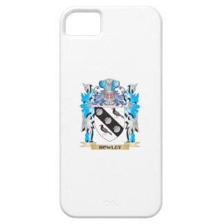 Escudo de armas de Rowley - escudo de la familia iPhone 5 Protectores