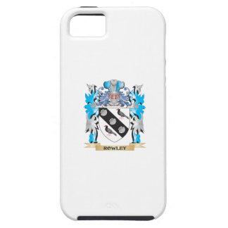 Escudo de armas de Rowley - escudo de la familia iPhone 5 Fundas
