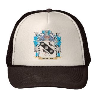 Escudo de armas de Rowley - escudo de la familia Gorras De Camionero