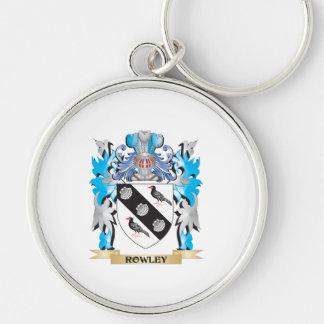 Escudo de armas de Rowley - escudo de la familia Llaveros
