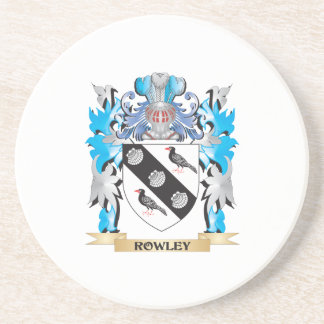 Escudo de armas de Rowley - escudo de la familia Posavasos Para Bebidas