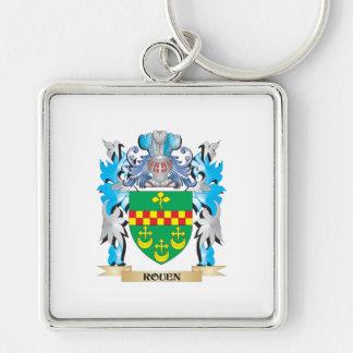 Escudo de armas de Ruán - escudo de la familia Llavero Personalizado