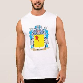 Escudo de armas de Rudge - escudo de la familia Camiseta Sin Mangas