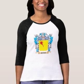 Escudo de armas de Rudge - escudo de la familia Camisetas