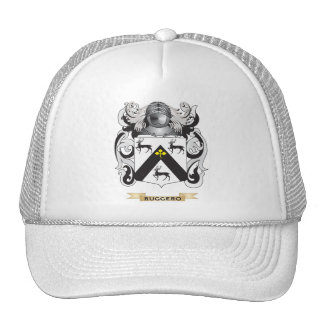 Escudo de armas de Ruggero escudo de la familia Gorros Bordados