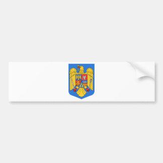 Escudo de armas de Rumania Pegatina Para Auto