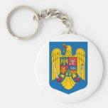 Escudo de armas de Rumania Llavero Personalizado
