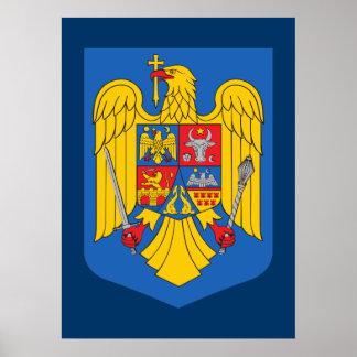 Escudo de armas de Rumania Impresiones