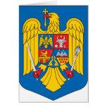 Escudo de armas de Rumania Tarjeta