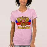 Escudo de armas de Rusia Camisetas