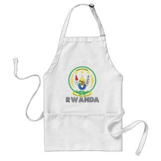 Escudo de armas de Rwanda Delantales