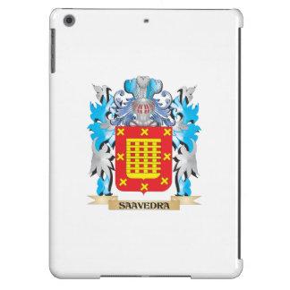 Escudo de armas de Saavedra - escudo de la familia Funda Para iPad Air