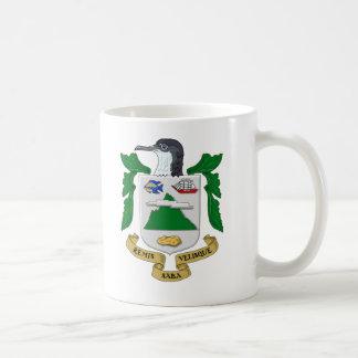 Escudo de armas de Saba Taza De Café
