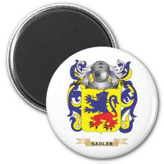 Escudo de armas de Sadler (escudo de la familia) Imán Redondo 5 Cm