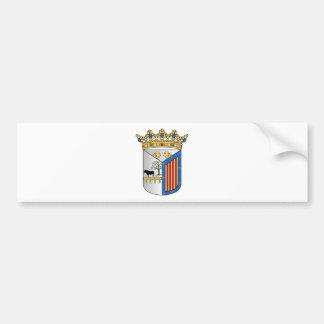 Escudo de armas de Salamanca (España) Pegatina Para Coche