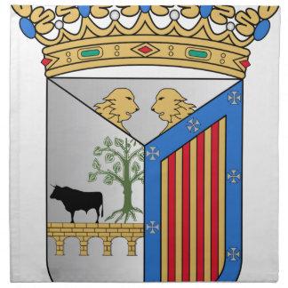 Escudo de armas de Salamanca (España) Servilletas De Papel