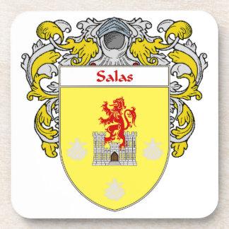 Escudo de armas de Salas/escudo de la familia Posavasos De Bebida