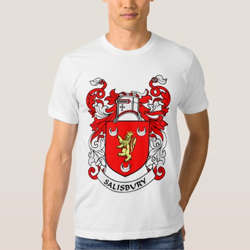 Escudo de armas de SALISBURY Remeras