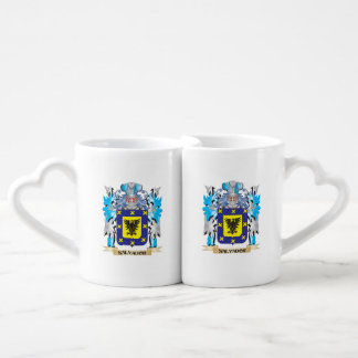Escudo de armas de Salvador - escudo de la familia Tazas Para Parejas