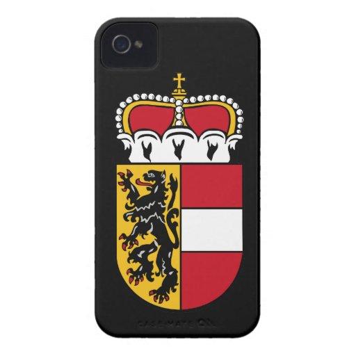 Escudo de armas de Salzburg iPhone 4 Case-Mate Cárcasas
