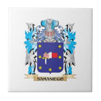 Escudo de armas de Samaniego - escudo de la Azulejos