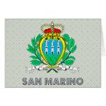 Escudo de armas de San Marino Tarjeta