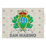 Escudo de armas de San Marino Tarjeton