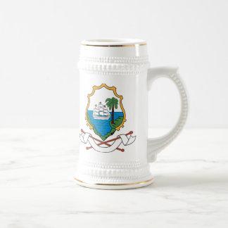 Escudo de armas de San Martín Tazas De Café