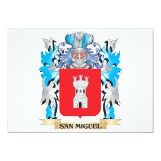 Escudo de armas de San Miguel - escudo de la