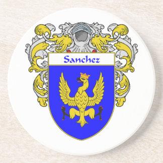 Escudo de armas de Sánchez/escudo de la familia Posavasos Diseño