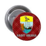 Escudo de armas de Santa Helena Pins