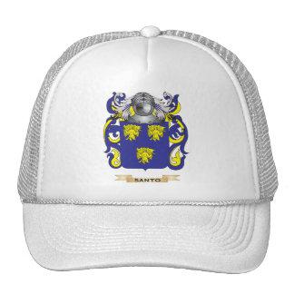 Escudo de armas de Santo (escudo de la familia) Gorras De Camionero